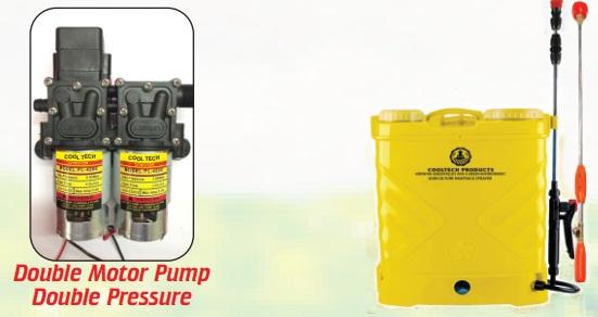 Agriculture Sprayer Double Motor Pump in Delhi, India |