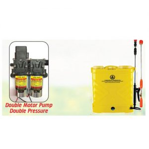 agriculture-sprayer double motor pump