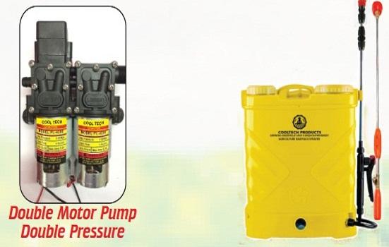 Agriculture Sprayer Double Motor Pump