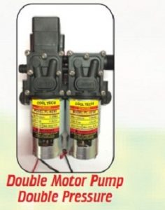 agriculture sprayer double motor pump